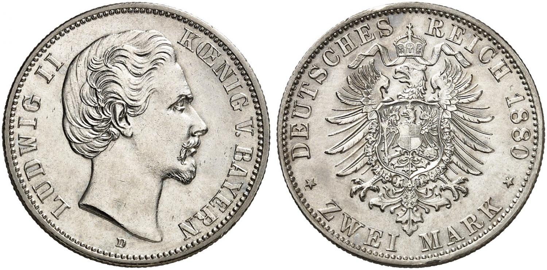 DE 2 Mark 1880 D