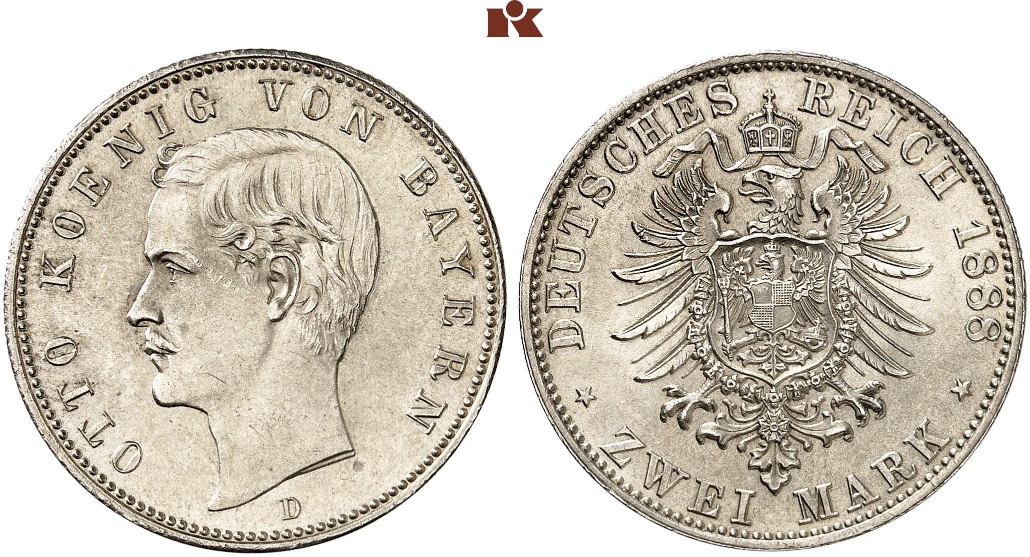 DE 2 Mark 1888 D