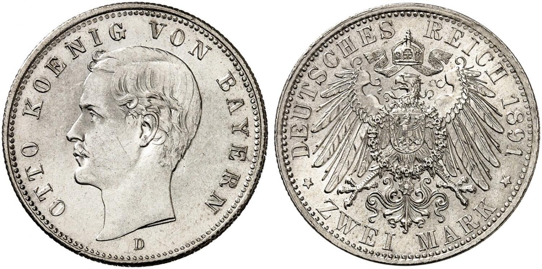 DE 2 Mark 1891 D