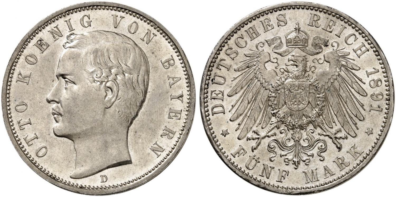 DE 5 Mark 1891 D
