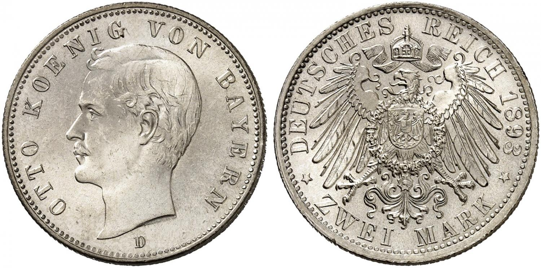 DE 2 Mark 1893 D