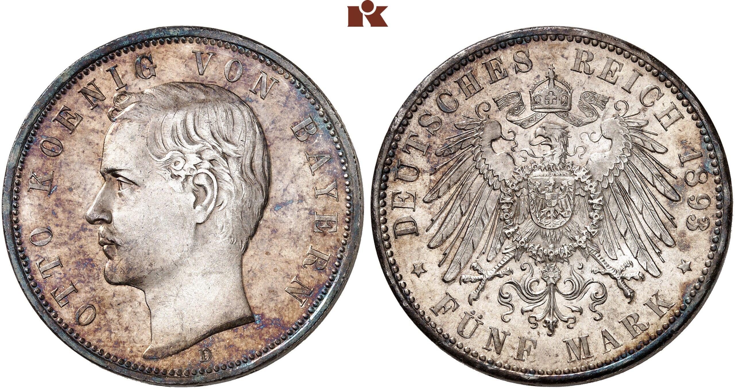 DE 5 Mark 1893 D