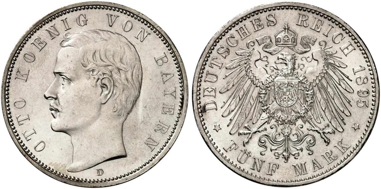 DE 5 Mark 1895 D