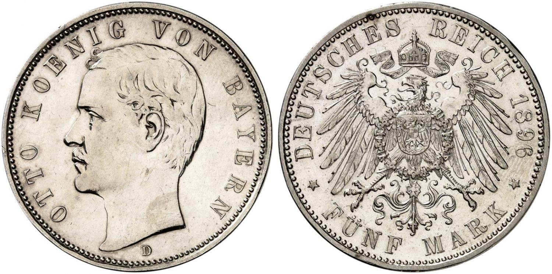 DE 5 Mark 1896 D