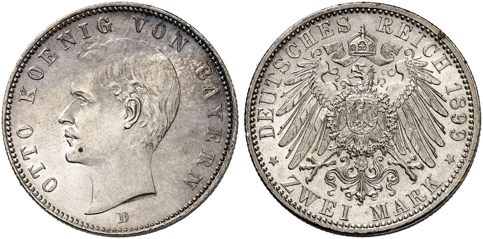 DE 2 Mark 1899 D