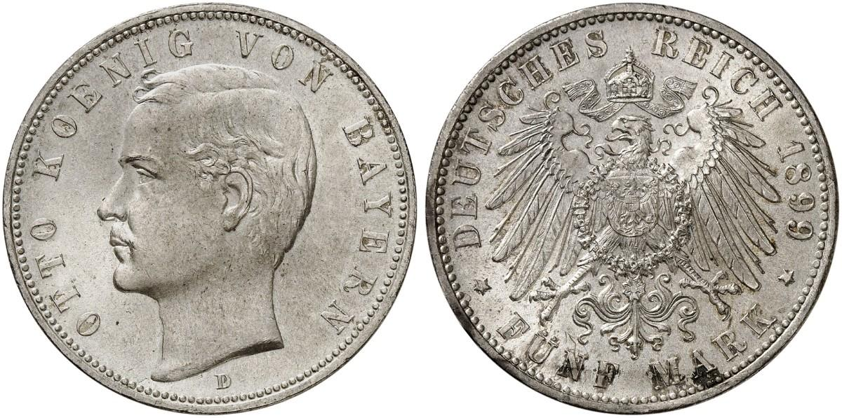 DE 5 Mark 1899 D