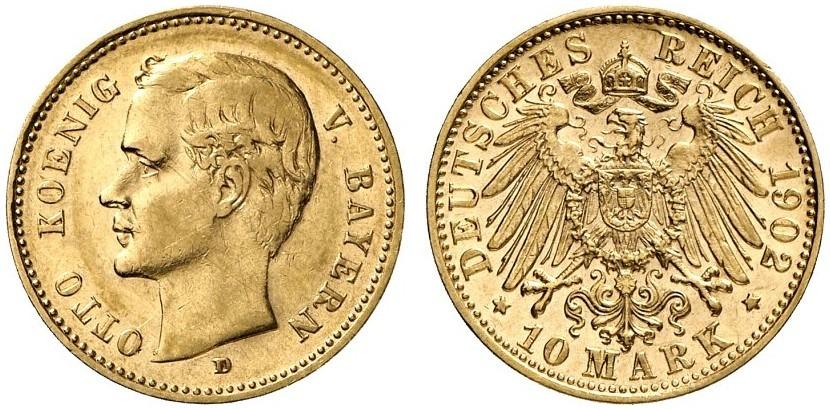 DE 10 Mark 1902 D