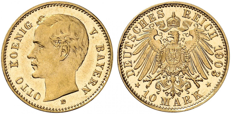 DE 10 Mark 1903 D