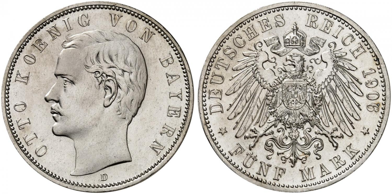 DE 5 Mark 1906 D