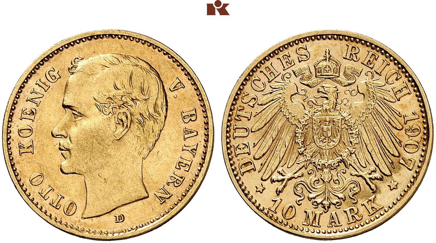 DE 10 Mark 1907 D