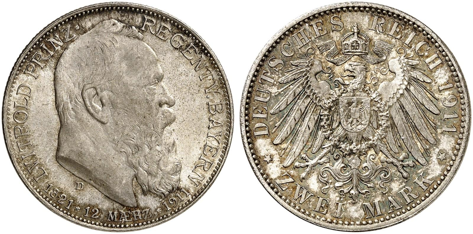 DE 2 Mark 1911 D
