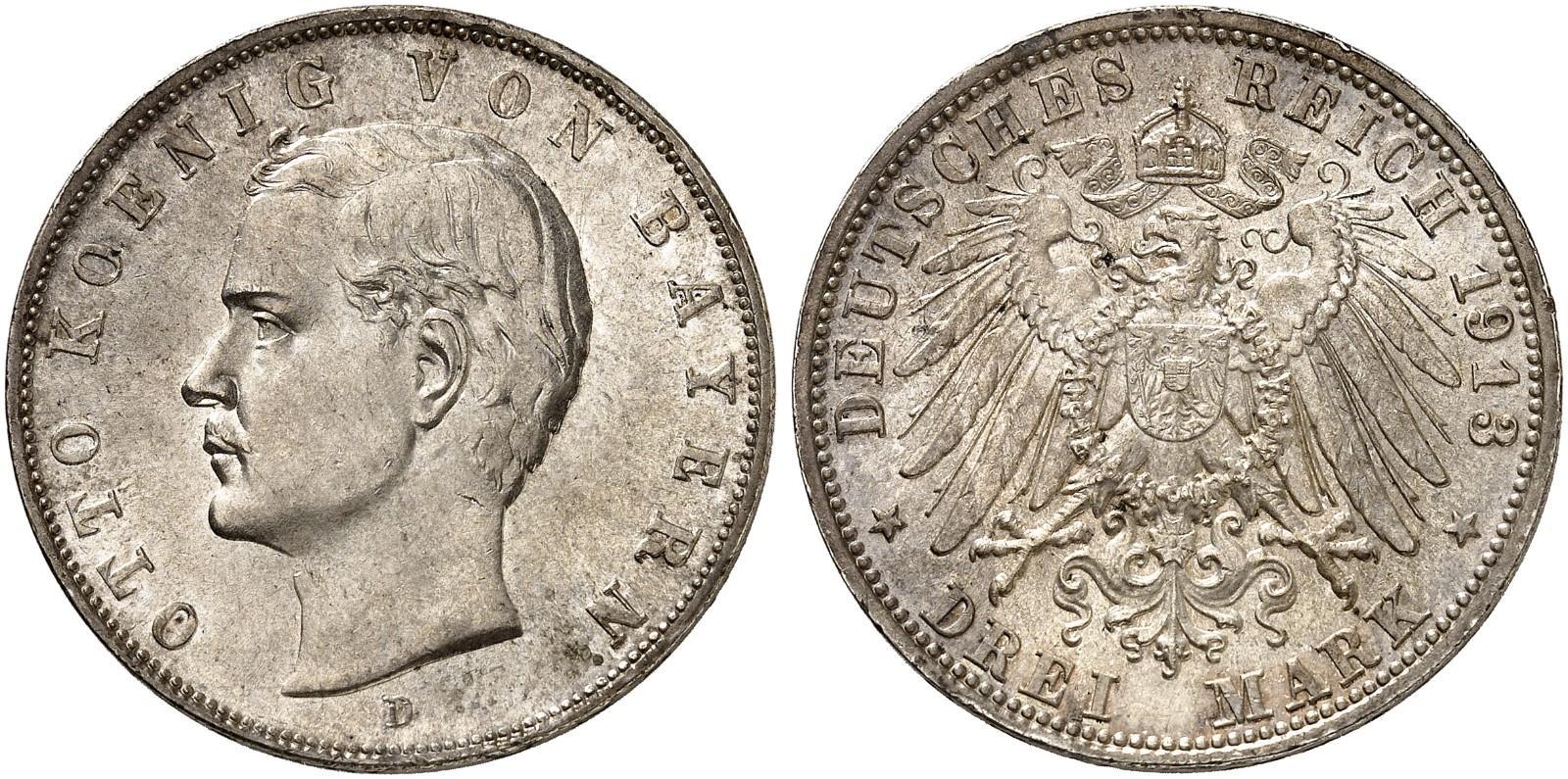 DE 3 Mark 1913 D