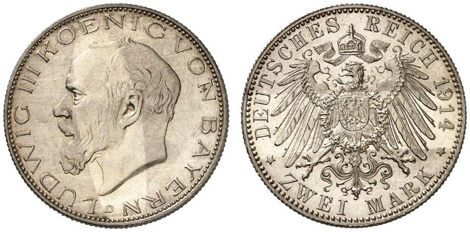 DE 2 Mark 1914 D