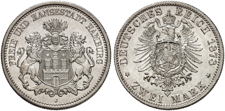 DE 2 Mark 1878 J