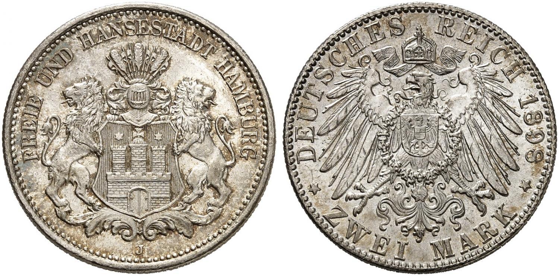 DE 2 Mark 1898 J