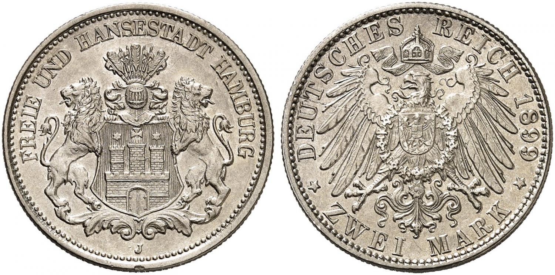 DE 2 Mark 1899 J