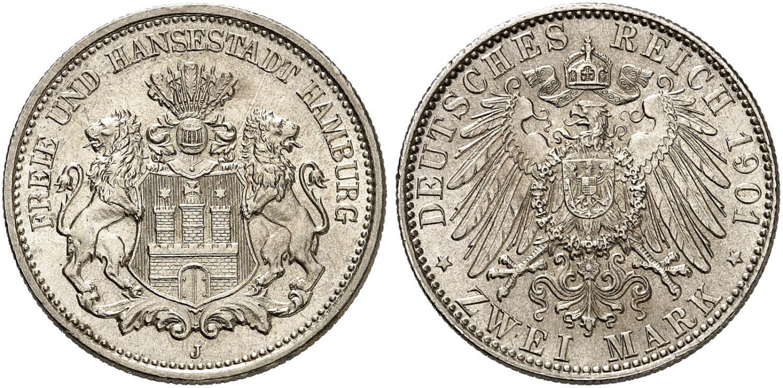 DE 2 Mark 1901 J