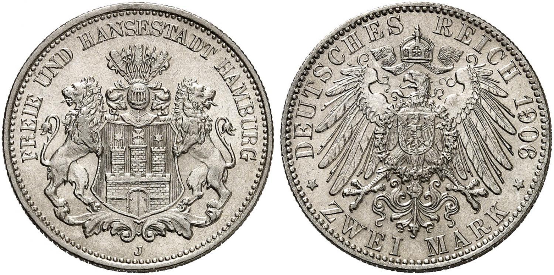 DE 2 Mark 1906 J