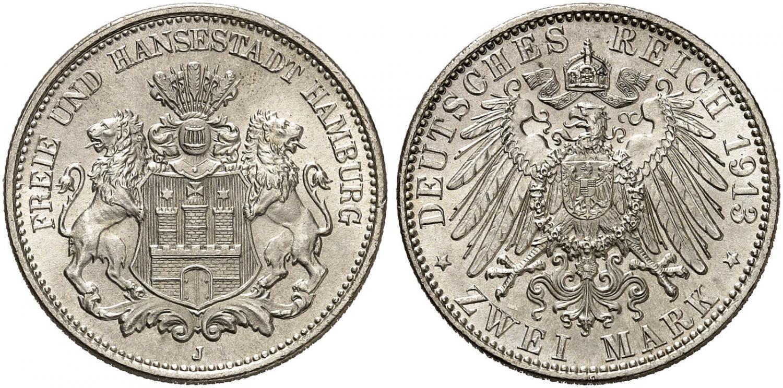 DE 2 Mark 1913 J