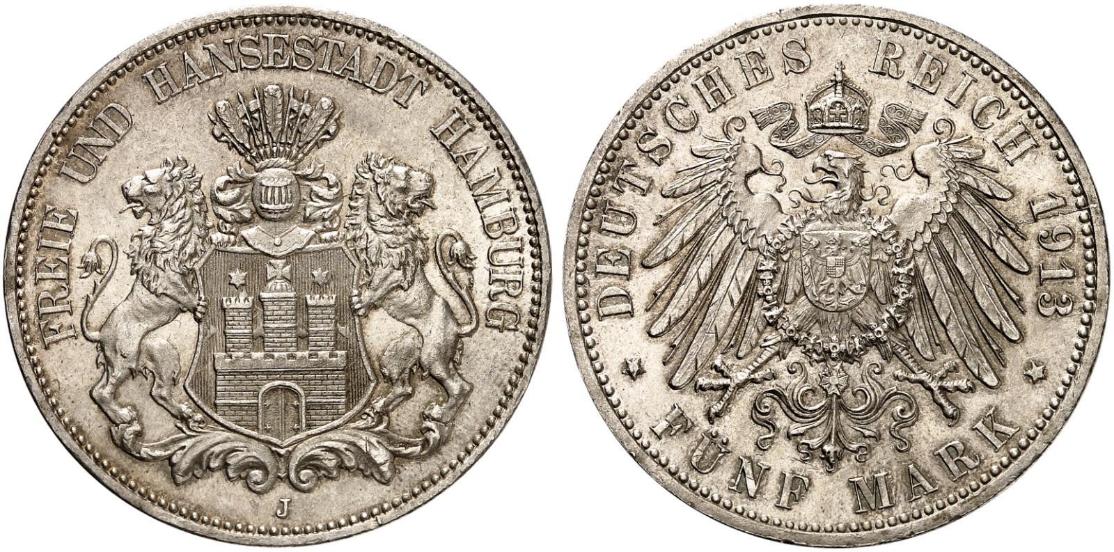 DE 5 Mark 1913 J