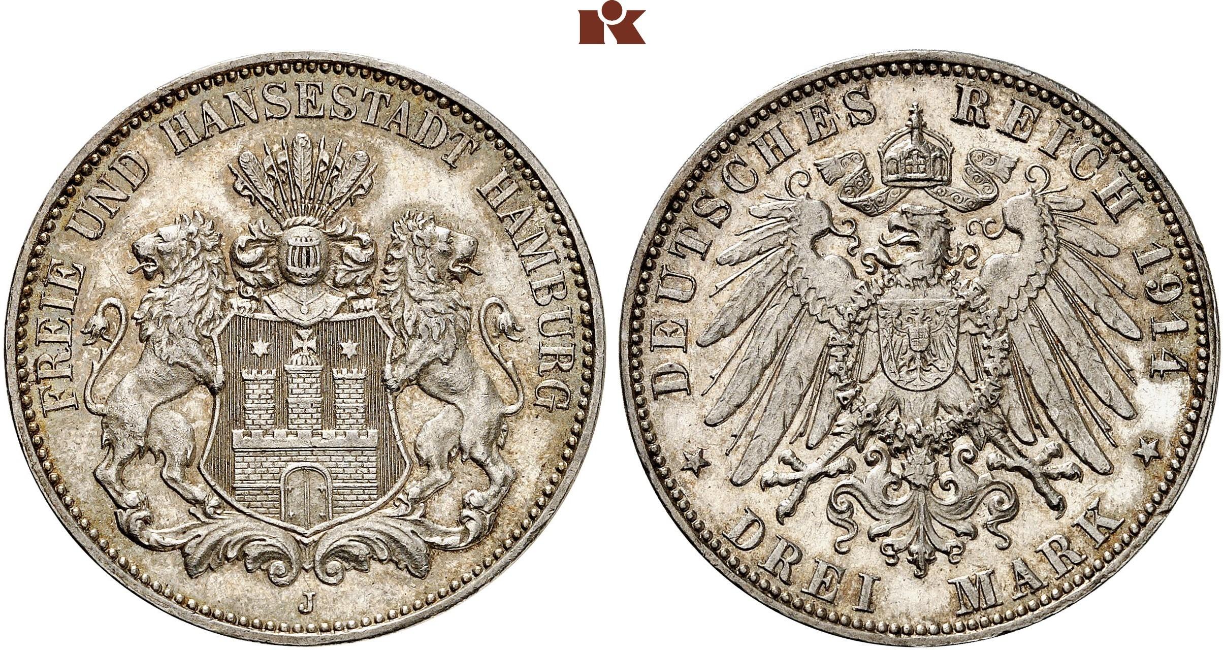 DE 3 Mark 1914 J