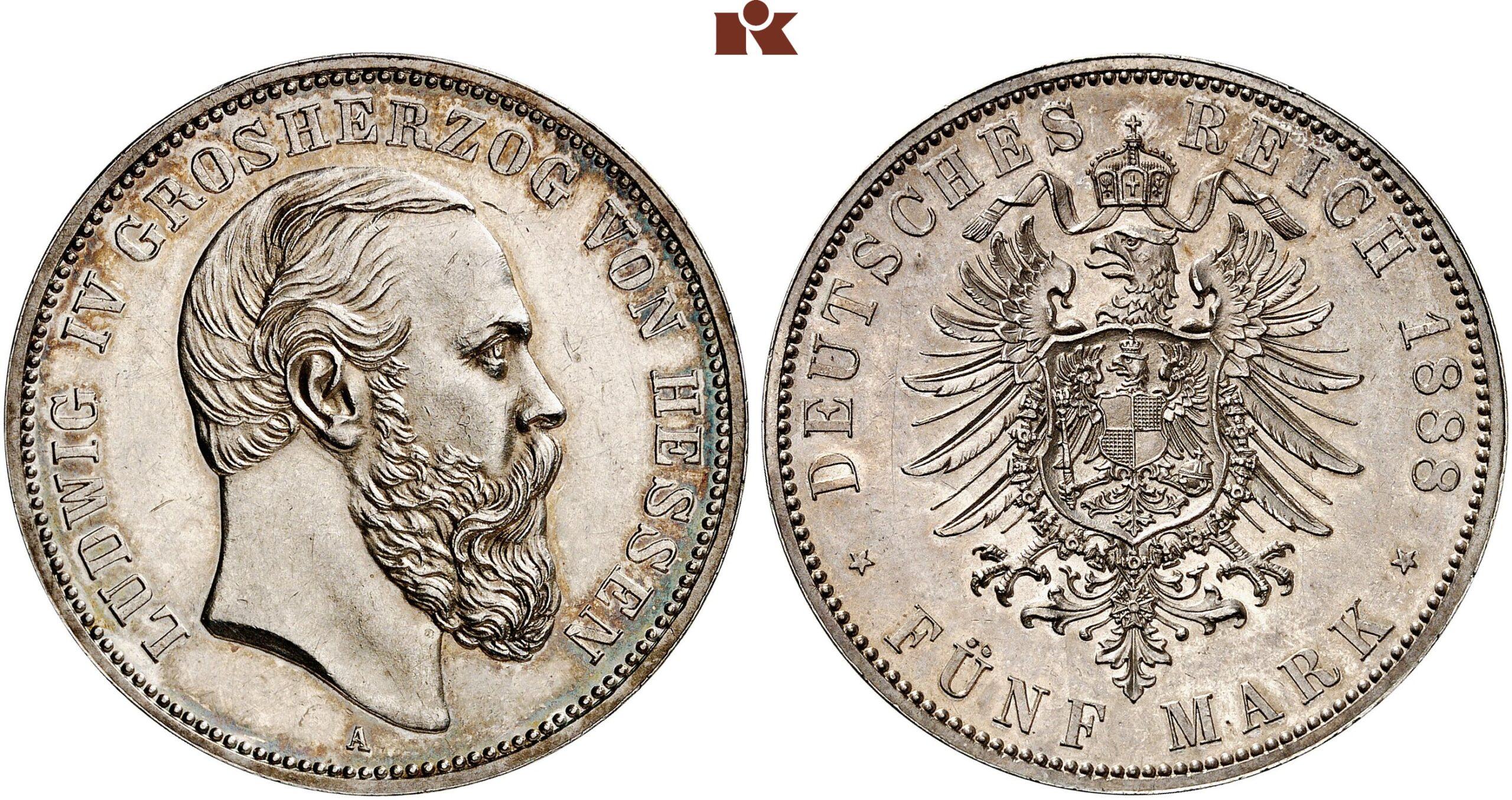 DE 5 Mark 1888 A