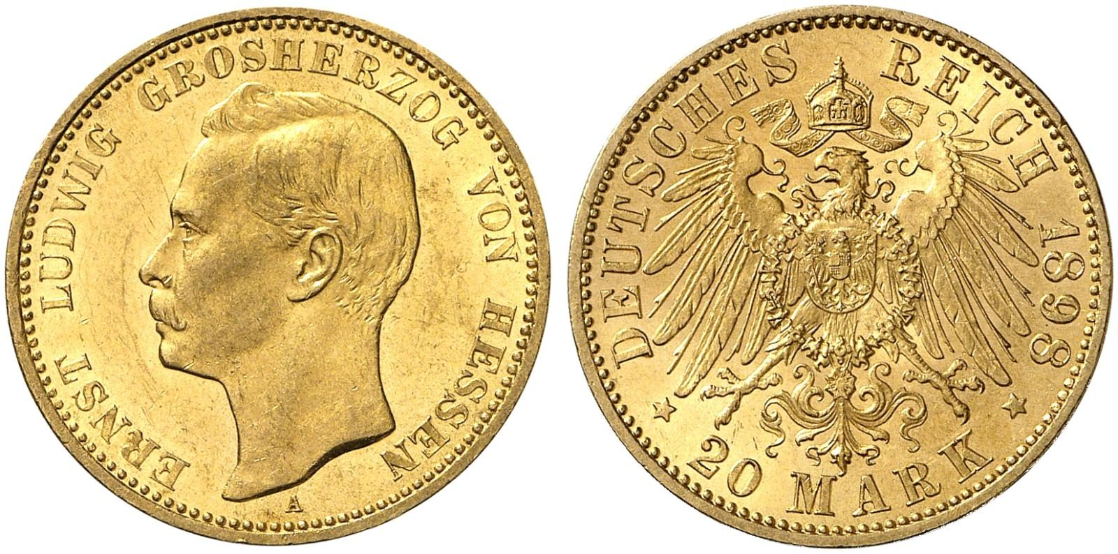 DE 20 Mark 1898 A