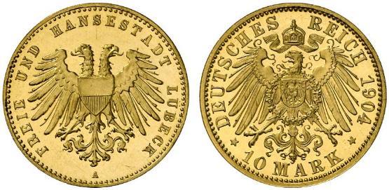 DE 10 Mark 1904 A