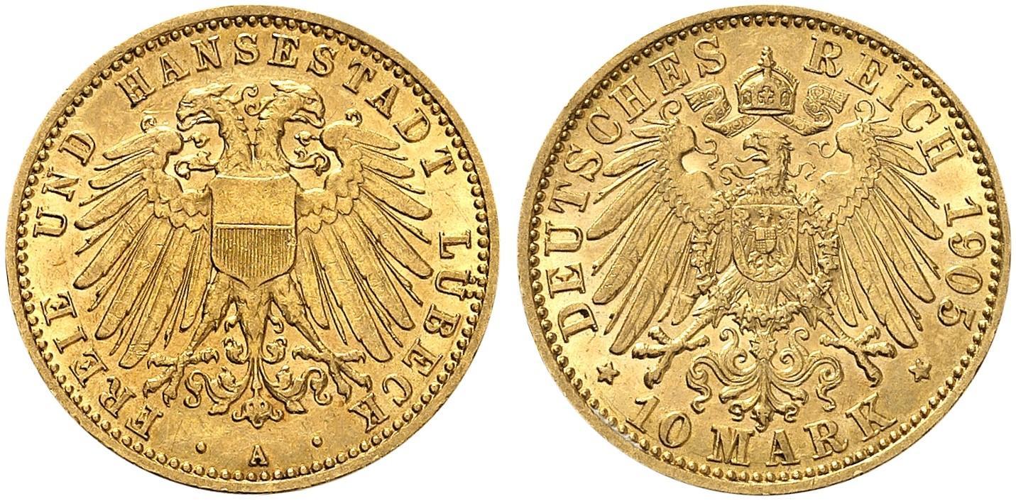 DE 10 Mark 1905 A