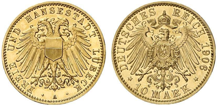 DE 10 Mark 1906 A