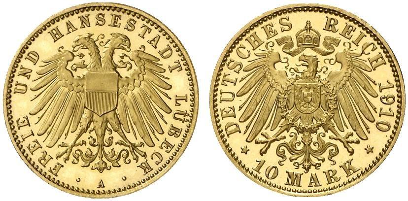 DE 10 Mark 1910 A