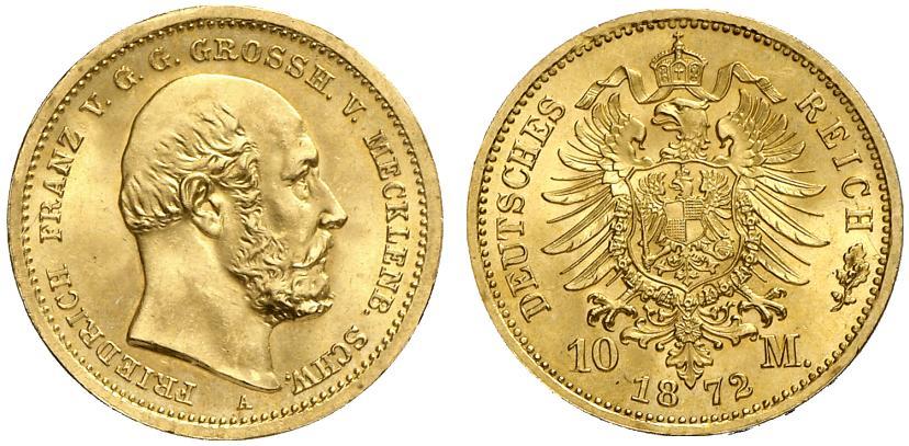 DE 10 Mark 1872 A