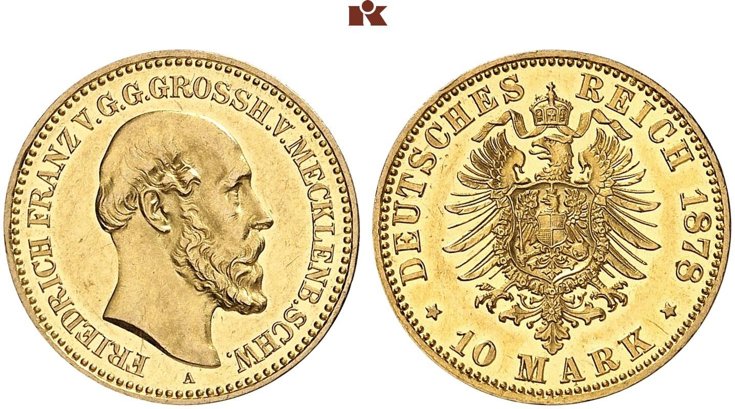 DE 10 Mark 1878 A