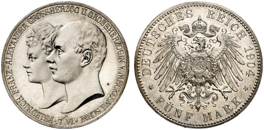 DE 5 Mark 1904 A