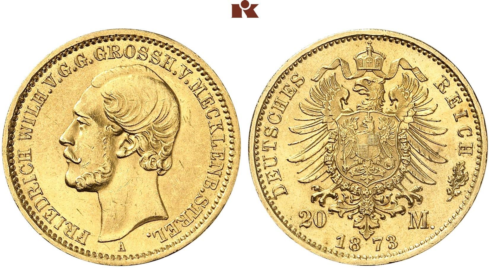 DE 20 Mark 1873 A