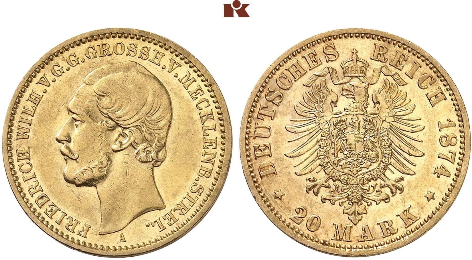 DE 20 Mark 1874 A