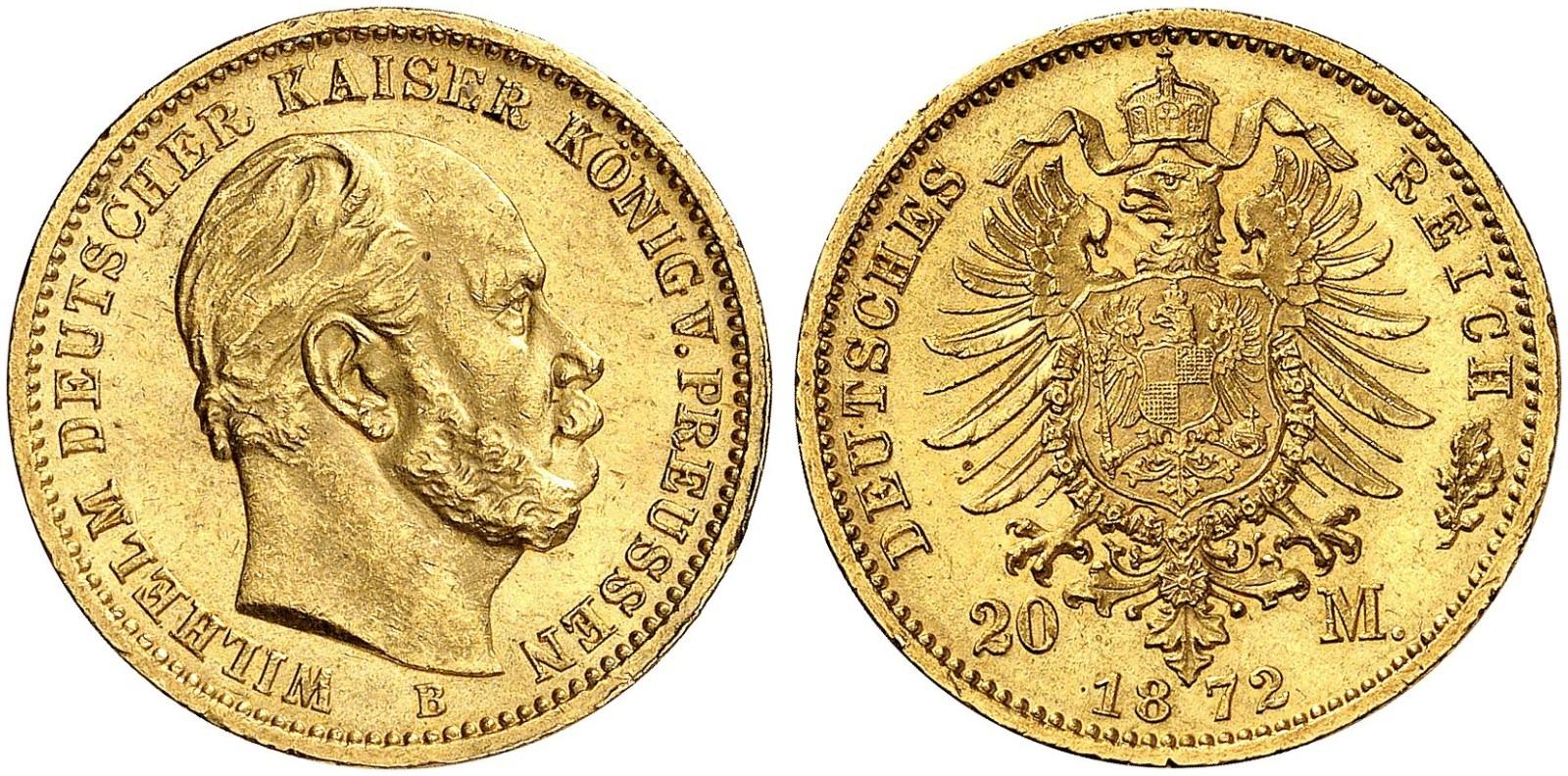 DE 20 Mark 1872 B