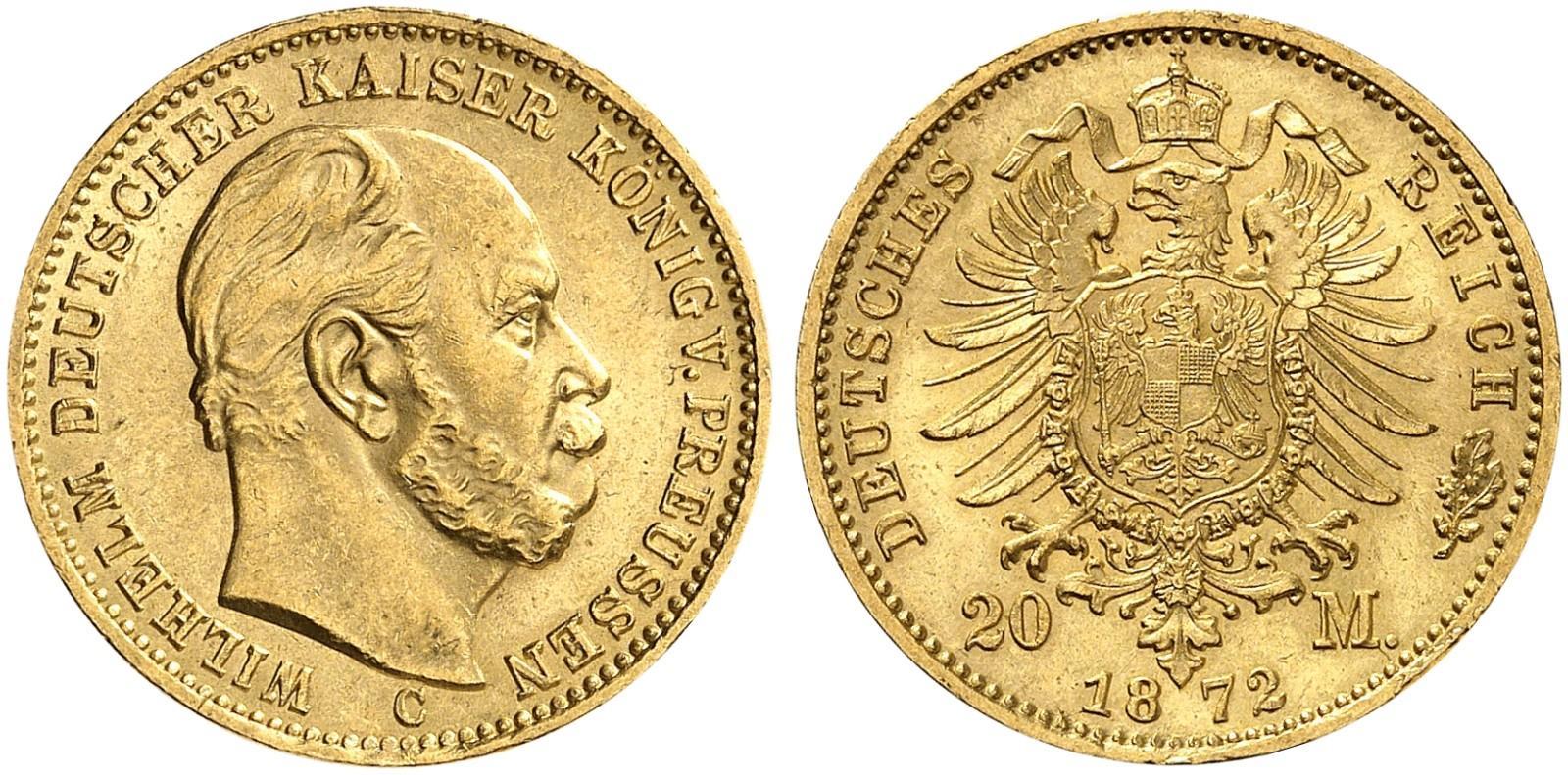 DE 20 Mark 1872 C