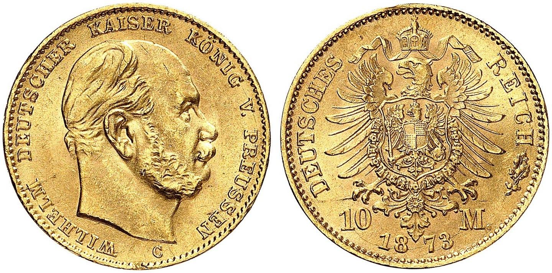 DE 10 Mark 1873 C