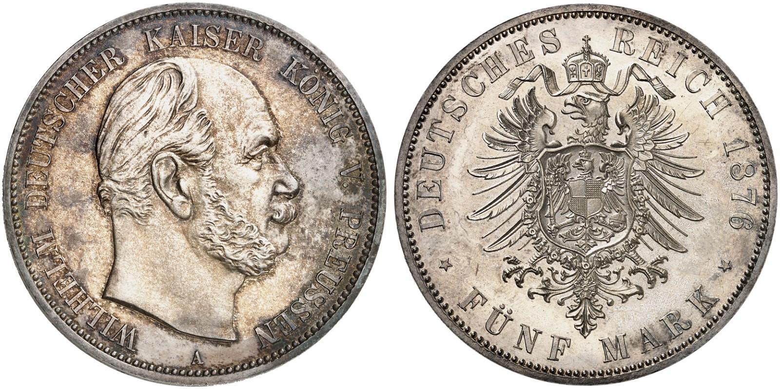 DE 5 Mark 1876 A
