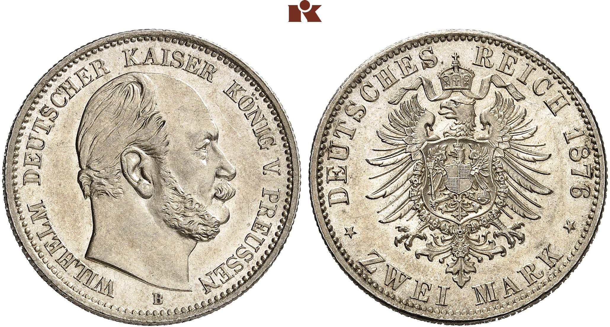 DE 2 Mark 1876 B