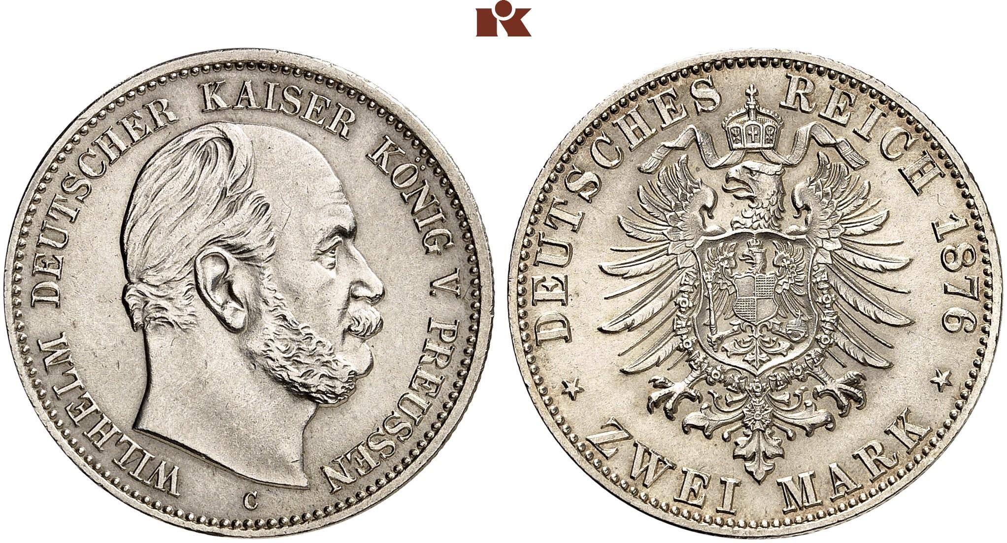 DE 2 Mark 1876 C