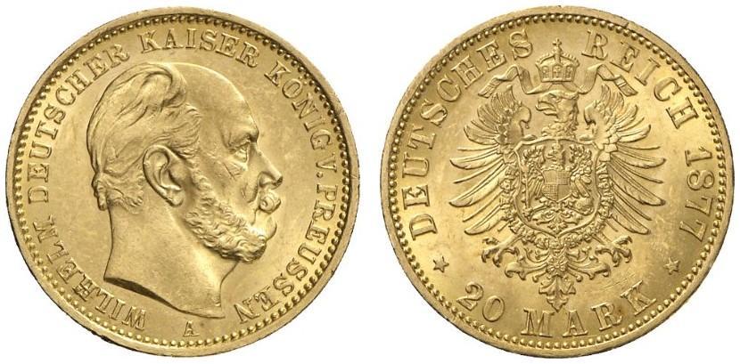 DE 20 Mark 1877 A