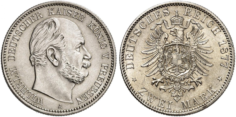 DE 2 Mark 1877 A