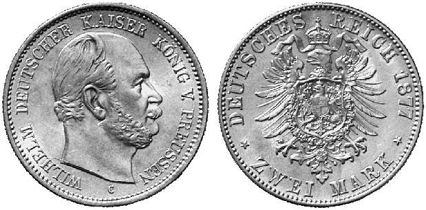 DE 2 Mark 1877 C