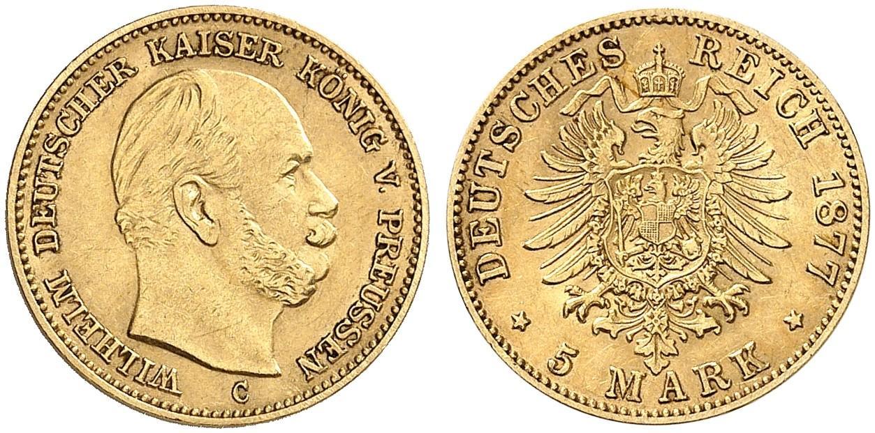 DE 5 Mark 1877 C