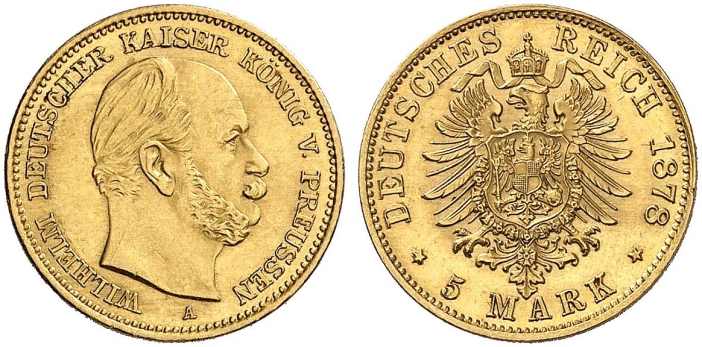 DE 5 Mark 1878 A