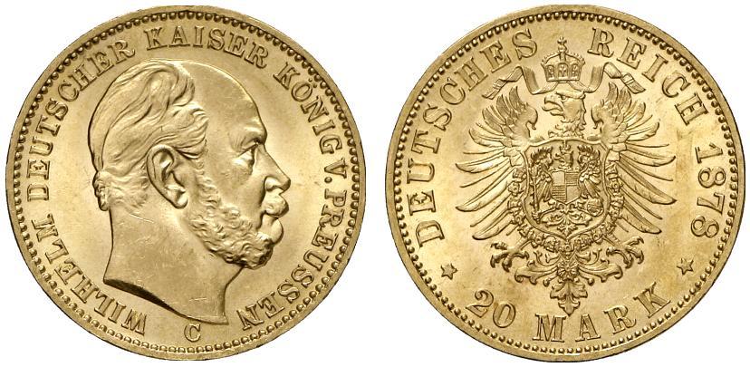 DE 20 Mark 1878 C