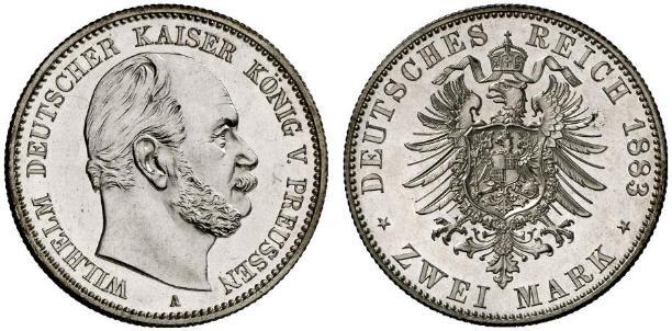 DE 2 Mark 1883 A