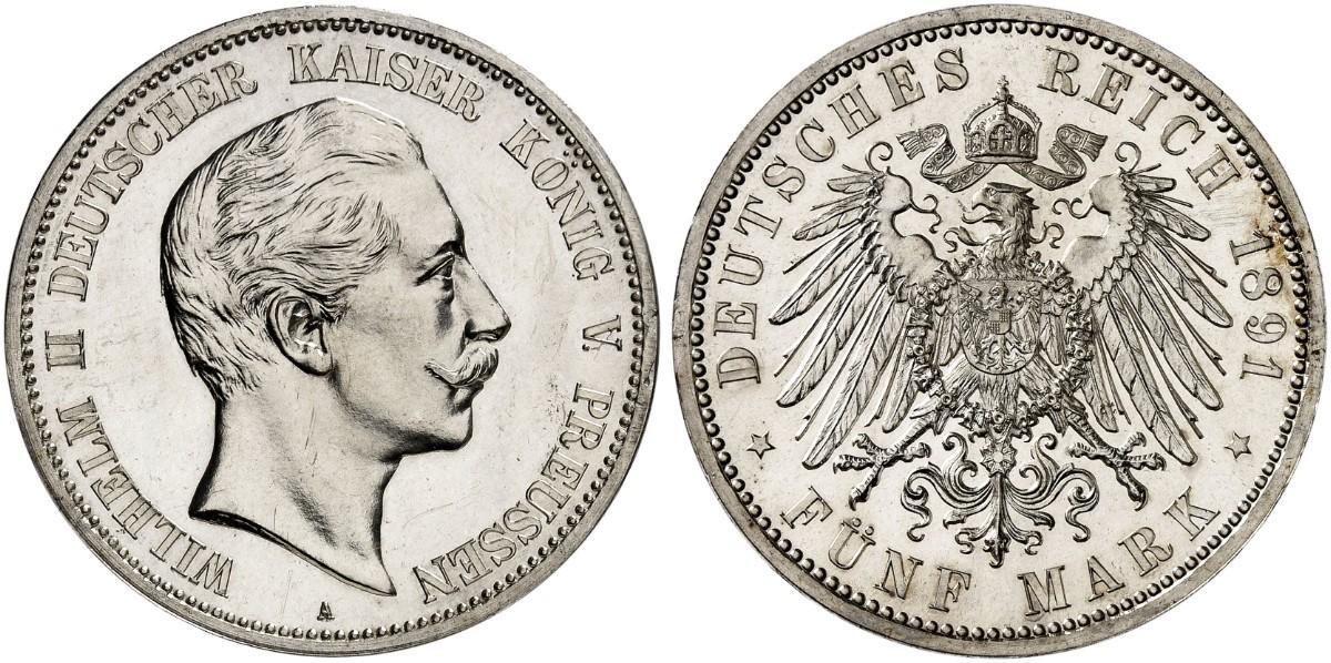 DE 5 Mark 1891 A